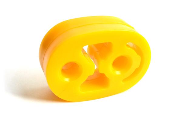 подвеска глушителя 3305 желтая