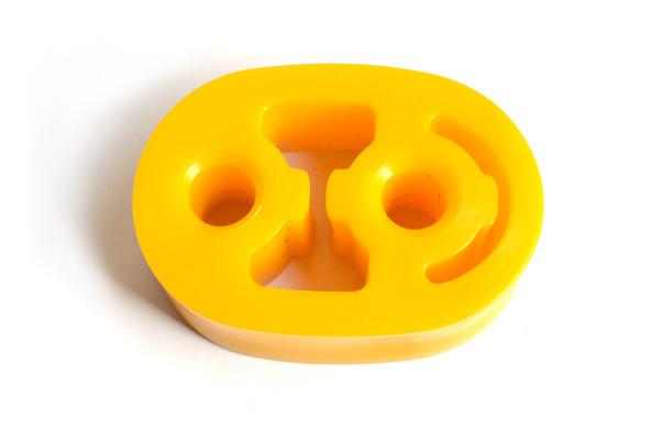 Подушка глушителя ГАЗель желтая