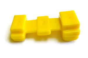 Подушка рессоры 451Д-2902430 желтая