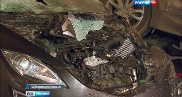 Авария на Щелковском шоссе